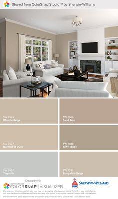 Home Decoracin Ideas Living Room Paint Colors Sea Salt 53 Trendy Ideas Bedroom Paint Colors, Paint Colors For Home, House Colors, Teal House, Paint Colours, Beige Living Room Paint, Brown Paint Colors, Interior Paint Colors For Living Room, Beige Bathroom Paint