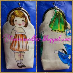 """CoserconEsther: Tutorial para Funda de Gafas """"Clasica"""" con boquill... Ribbon Art, Hand Quilting, Hobbit, Leather Bag, Coin Purse, Lunch Box, Patches, Cushions, Princess Zelda"""
