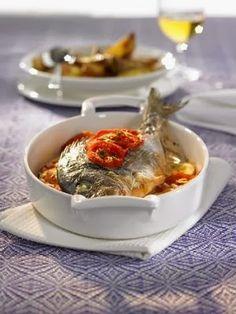 Yemek ve Tatlı tarifleri : Fırında Mantar Soslu Çipura nasıl yapılır Tarifi