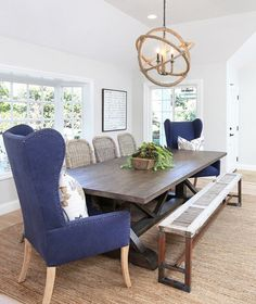 147 Best Coastal Dining Rooms Images In 2019