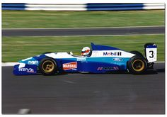 Didier Cottaz -  Reynard 95D Cosworth AC - Paul Stewart Racing - BRDC International Trophy - 1995 International F3000 Championship, round 1 - © Antsphoto