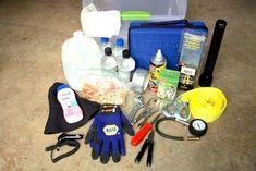 E, claro, estar preparado para qualquer situação de emergência, colocando em conjunto um kit de emergência.