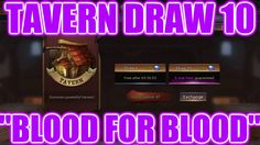 Eternal Arena | TAVERN DRAW 10 | BLOOD FOR BLOOD (Stealthed) Summoning, Blood, Draw, To Draw, Sketch, Tekenen, Drawing, Drawings