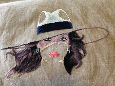 Roxy by Heritage Crafts. I used 32 count Linen in Pink Sand. Cross Stitch Gallery, Heritage Crafts, Cross Stitch Supplies, Pink Sand, Cross Stitching, Fabric Patterns, Roxy, Cross Stitch Patterns, Needlework