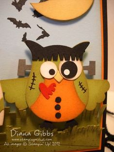 Stamping With Di: Happy H'Owl-oween