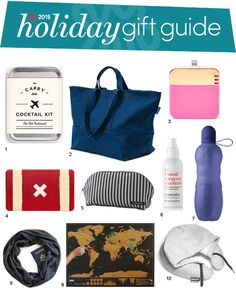 Jet Set Style: Great Gifts for Travelers — Holiday Gift Guide from Apartment Therapy | Apartment Therapy