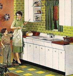 Kitchen - 1954