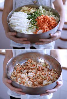 vegan + gluten free kimchi