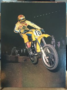Off Road Bikes, Vintage Motocross, Road Racing, Offroad, Motorcycle, Vehicles, Posters, Awesome, Fun