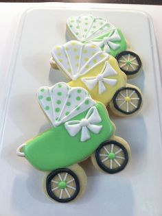 Baby Carriage Cookies - Sugar Beez | Flickr - Photo Sharing!