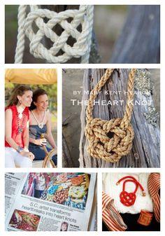 The Heart Knot- such a beautiful, handmade line!