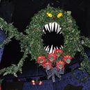 Step 0: Christmas or Halloween? The Man Eating Wreath.