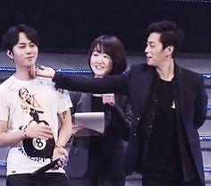 Junhyung and Doojoon
