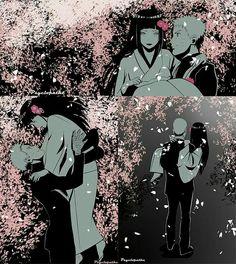 After the wedding.  #Naruto #Hinata