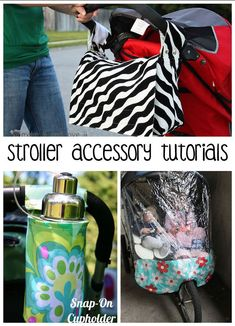 Make one special photo charms for you, 100% compatible with your Pandora bracelets. 6 free sewing tutorials for stroller accessories: 1. Ultimate Stroller Cover 2. Stroller Caddy Organizer DIY Etc.