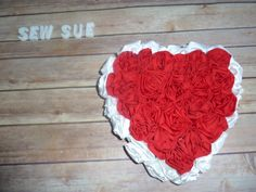 Valentine Pillow Sale! On Sew Sue and Etsy.com/sewsueprops