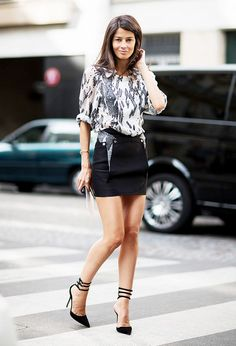 la modella mafia Model off Duty Vogue Spain Fashion Editor Barbara Martelo… Street Style Chic, Street Style Summer, Spring Style, Barbara Martelo, Quoi Porter, Fashion Outfits, Womens Fashion, Fashion Trends, Fashion Editor