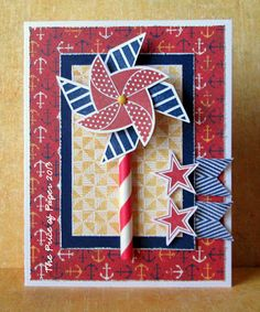 card by Vicki Price using CTMH Tommy paper