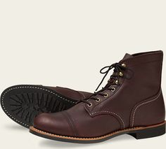 Iron Ranger 8119 with the lugged sole. hopefully in amber colour later & available in canada for ~300
