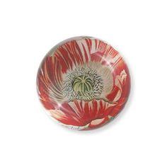 Eccolo World's Fair Collection Glass Paperweight, Poppies... http://www.amazon.com/dp/B00FL5T7B2/ref=cm_sw_r_pi_dp_CWYvxb1EKYJN1