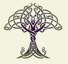 Best Meaningful Tattoos Ideas - Celtic Tree of Life Stencil Designs from Stencil. - Best Meaningful Tattoos Ideas - Celtic Tree of Life Stencil Designs from Stencil. Celtic Symbols, Celtic Art, Celtic Knots, Celtic Mandala, Wiccan Symbols, Celtic Patterns, Celtic Designs, Tattoo Life, Tree Of Life Tattoos