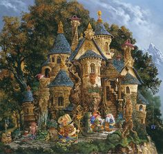 James Christensen - Artifacts Gallery - College of Magical Knowledge