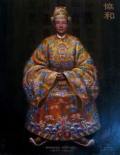 HIỆP HOÀ - Chân Dung Các Vua Triều Nguyễn