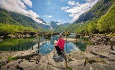 Hike to the Bondhus glacier/Bondhusdalen Hiking Norway, Fjord, Round Trip, Best Sites, Van Life, Paths, Entrance, Travel Destinations, Places To Go