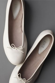 """Simplicity flats, BHLDN. Bloch definitely makes ~real~ ballet slippers so I love the """"authenticity"""" of these :)"""