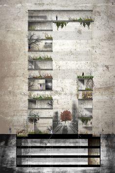 drawingarchitecture:    Section I  Laura Elena Barba