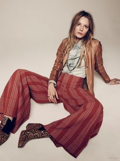 Ieva Laguna Takes on Casual Spring Style in Free People Lookbook