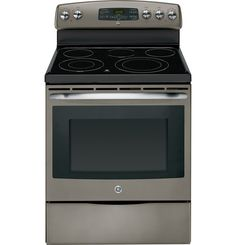 "Klenk's Sales - Appliances and Parts - JB650EDES 800 GE Slate 30"" Free Standing Electric Range"