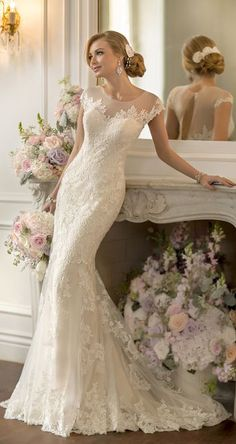 Cheap bridal gown, Buy Quality vintage wedding dresses 2014 directly from China lace wedding dress Suppliers: Vestido De Noiva Mermaid Vintage Wedding Dress 2014 Sexy Open Back Lace Wedding Dresses Bridal Gown Robe De Mariage Casamento Vintage Inspired Wedding Dresses, 2015 Wedding Dresses, Wedding Gowns, Bridesmaid Dresses, Lace Wedding, Mermaid Wedding, Wedding Blog, Lace Mermaid, Bridesmaids