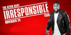 """Wells Fargo Center   Online Ticket Office   Event/Item List for """"Kevin Hart: The Irresponsible Tour (Saturday November 24,2018)"""""""