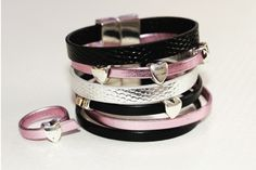 DIY - tutoriel bracelet manchette Cuir