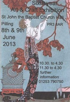 Over Wyre Art Society Exhibition Pilling Lancashire in June each Year