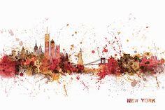 New York Skyline Digital Art