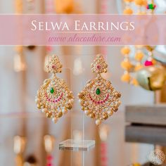 Gold Jhumka Earrings, Indian Jewelry Earrings, Jewelry Design Earrings, Gold Earrings Designs, Gold Jewelry Simple, Gold Rings Jewelry, Simple Earrings, Gold Jewellery, Gold Bangles Design