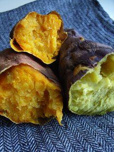 Baked sweet potato / 焼き芋(yakiimo)