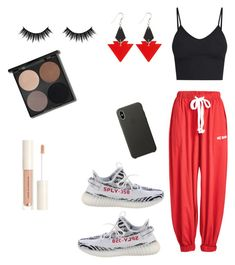 """Yeezy ❤️"" by nikyy808 on Polyvore featuring Natasha Zinko, BasicGrey, Yeezy by Kanye West, Apple, Toolally, Morphe, StreetStyle, cool and Yeezy"