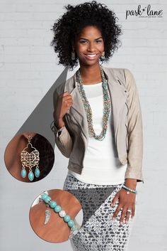 Complete your boho fall style with Park Lane Jewelry! #fallfashion #parklanejewelry #fashion