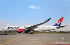 Air SERBIA / Airbus A350XWB / Livery concept