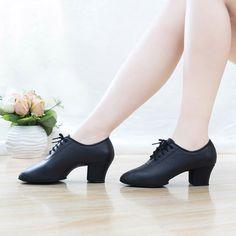 2017 New Arrivals Adult Women Ballroom Latin Salsa Tango Jive Dance Shoes Mid Heel Soft Bottom Professional Ladies Dancing Shoes