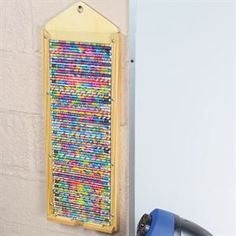 Hang this handy dispenser to keep all your classroom pencils neat, organized, and at the ready. With its clear acrylic window, its a fun way to motivate students by displaying special prize pencils, too. Book Organization, Classroom Organization, Classroom Decor, Classroom Management, Future Classroom, Pencil Dispenser, Really Good Stuff, Window Sizes, Space Saving Storage