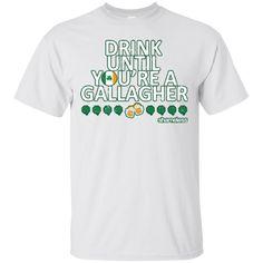 baae1d007 Saint Patrick Drink Until You're A Gallagher Hoodies Sweatshirts