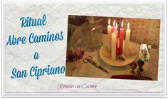 Ritual Abre Caminos a San Cipriano. Este ritual lo puedes hacer cuando sientes que por más que luchas no consigues solucionar tus problemas. Con la ayuda de San Cipriano los vas a poder cortar de raiz.