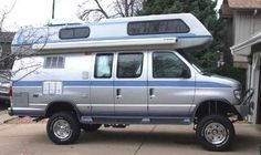 Airstream Class B Boulder Offroad 44 conversion 4x4 Van, Lifted Van, Off Road Camping, Old School Vans, Adventure Campers, Vanz, Bug Out Vehicle, Cool Vans, Gypsy Wagon