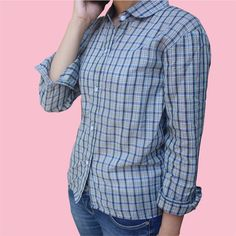Simple flanel shirt called Oza.
