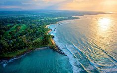 An aerial view of Dorado Beach, a Ritz-Carlton Reserve.