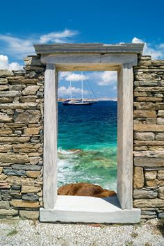 "destinationworld: "" Delos, Greece """